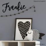 Acrylic-Frankie-Black