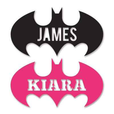Bat-Plaque