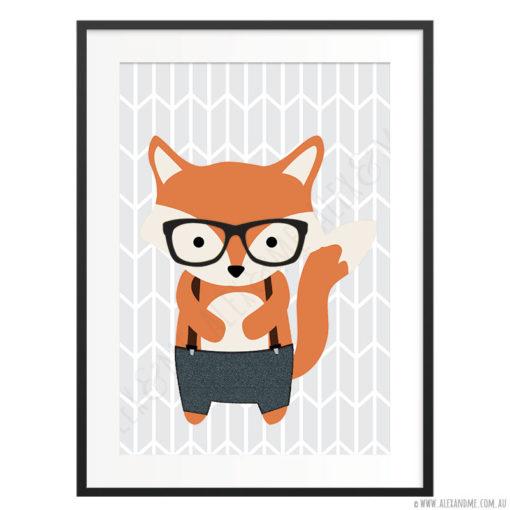 Hipster-Fox