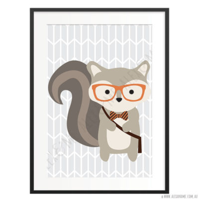 Hipster-Squirrel