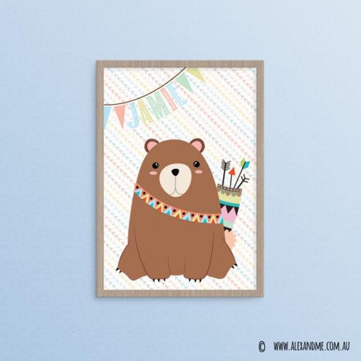 Personalised-Bear-jamie