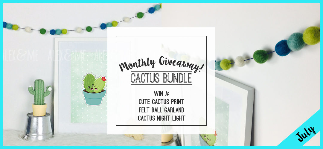 July 2016 Giveaway