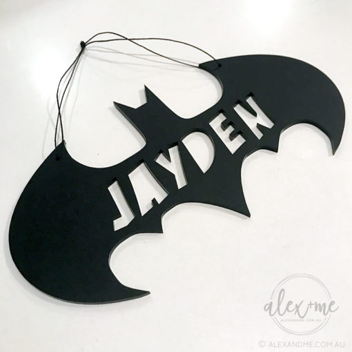 Bat Name Plaque