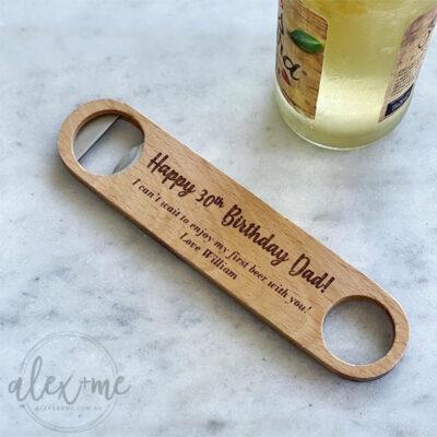 Engraved Bottle Opener