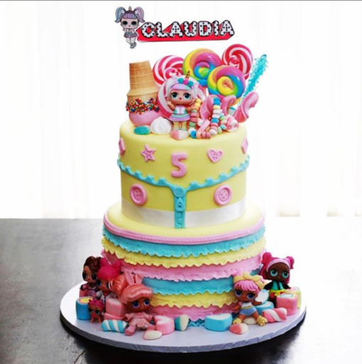 LOL Cake Topper