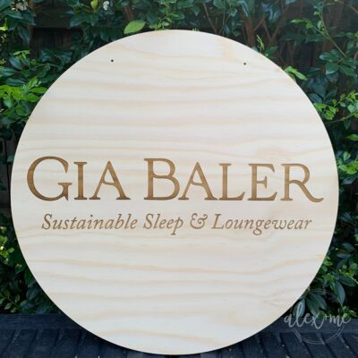 Engraved Business Sign