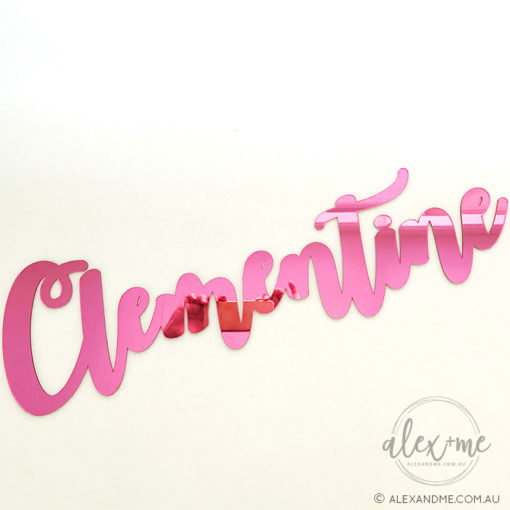 Pink mirror name